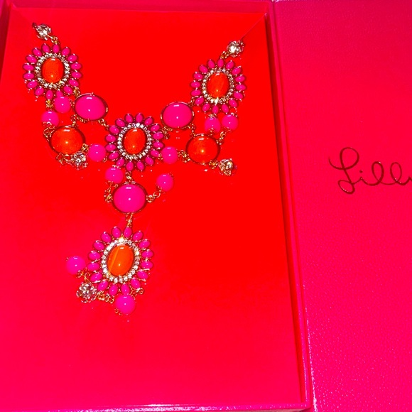 New Lilly Pulitzer Dew Drop Necklace